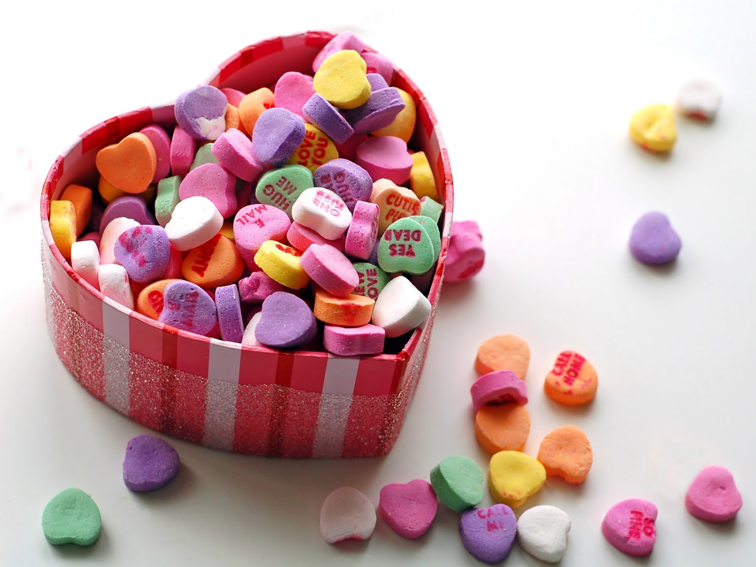love candy box for valentines day hd